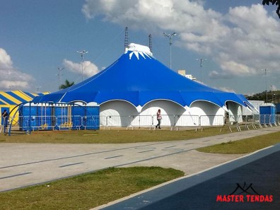 Master Tendas - Locação tenda circo, aranha e estrela