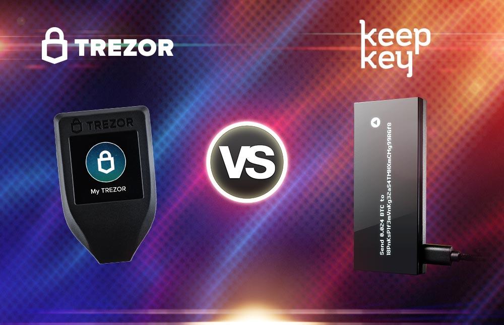 trezor vs keepkey wallet review