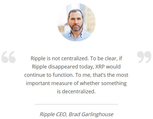 ripple-xrp-centralization-brad-garlinghouse-quote