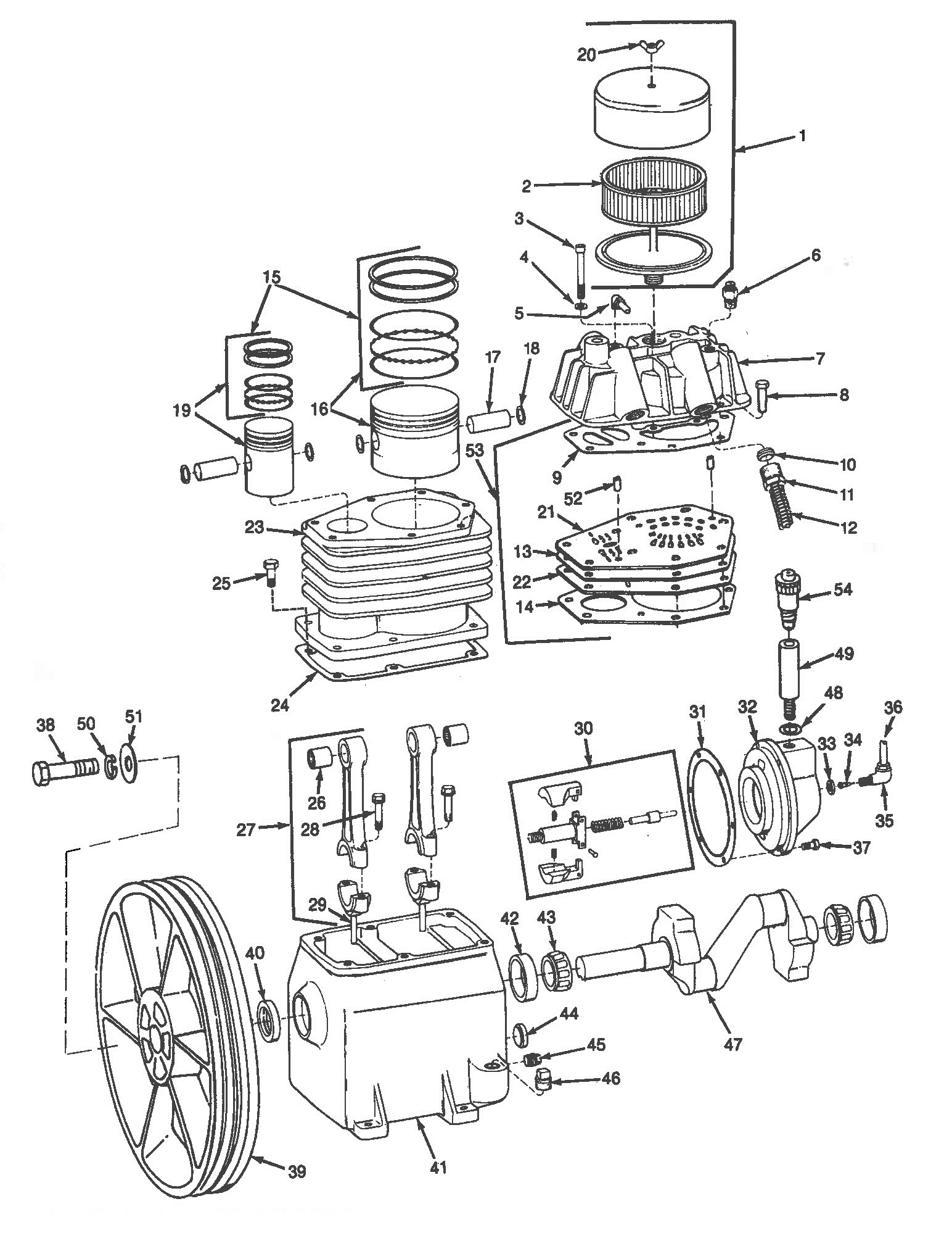 Speedaire 3z492a Air Compressor Parts
