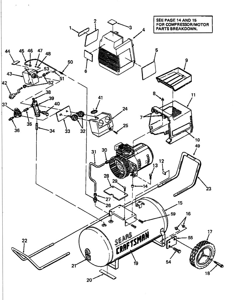 Kobalt Air Compressor Parts Diagram