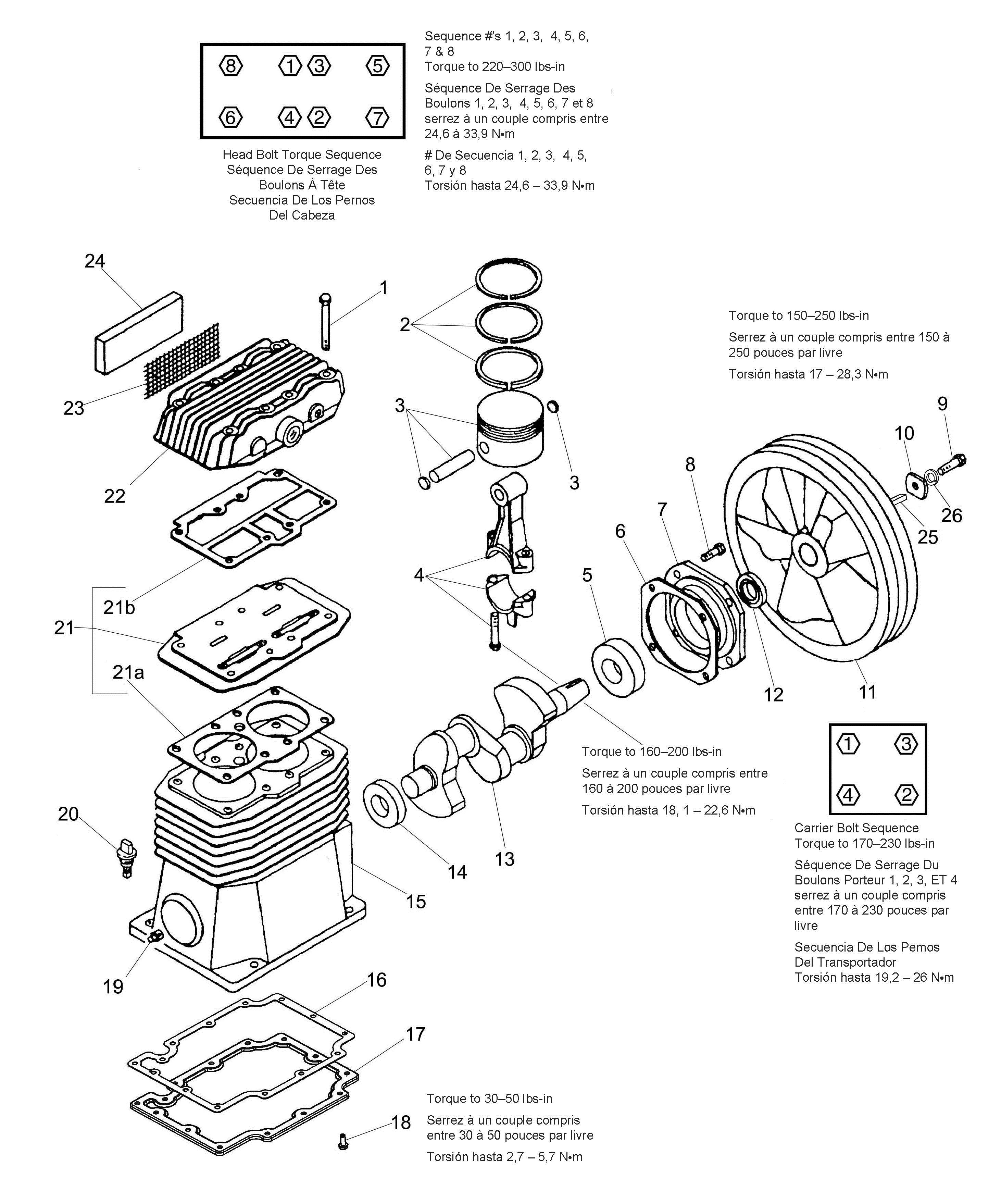 Industrial Air 040 Parts