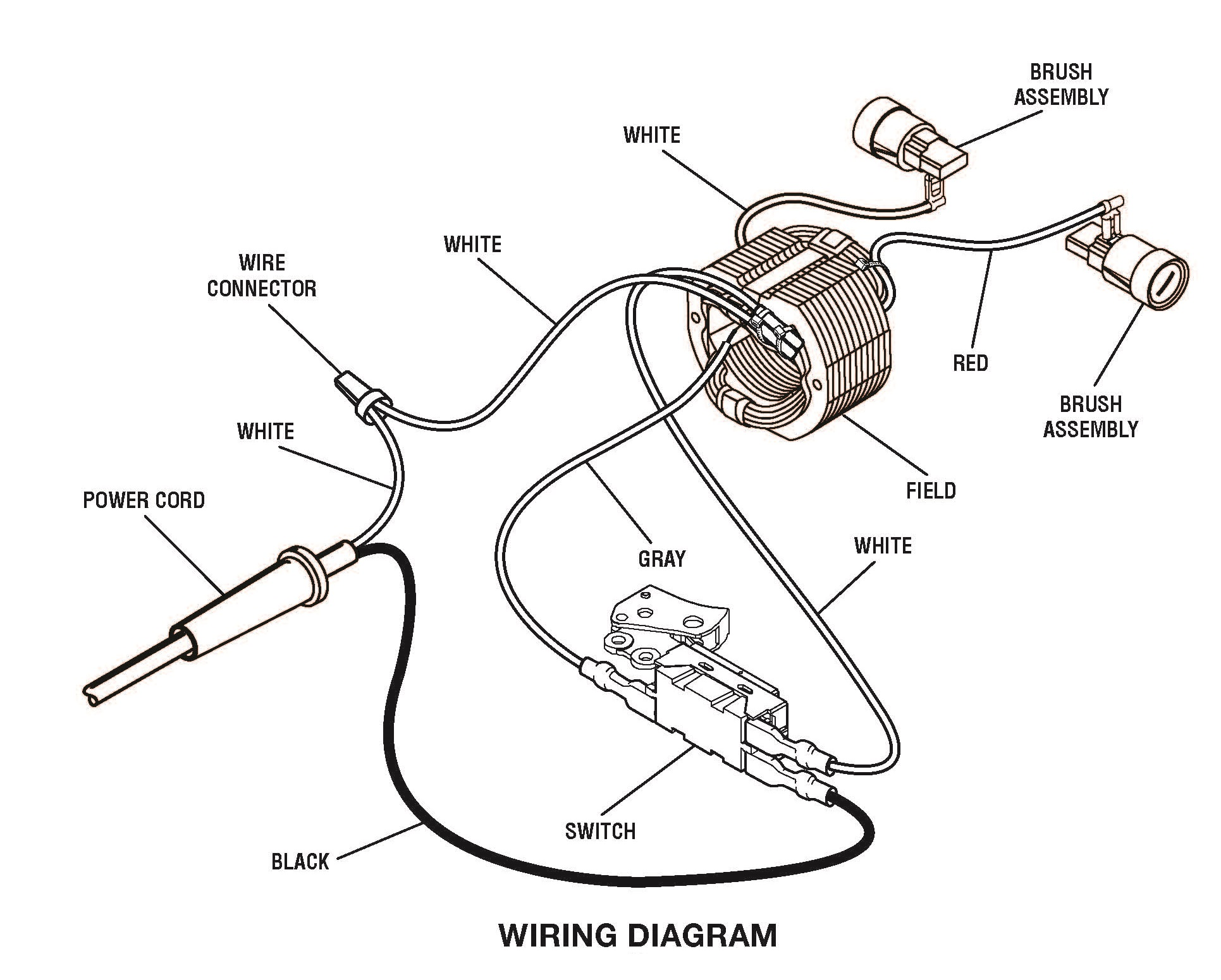Wiring Diagram For Power Tool Switch