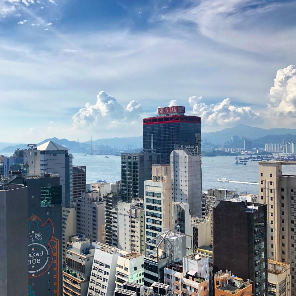 Sheung Wan Hotel View Hong Kong