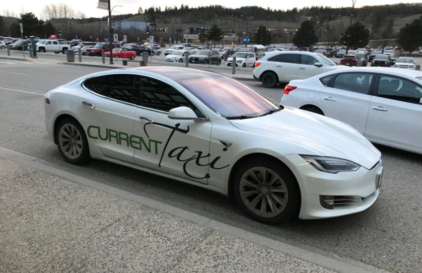 Current Taxi, Tesla Current Taxi Service Kelowna Review, , Kelowna Taxi
