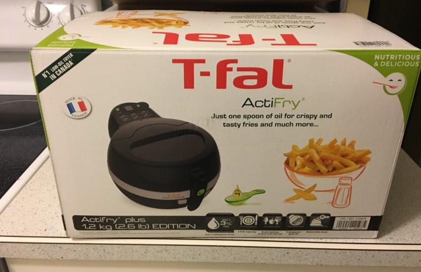 t-fal actifry box