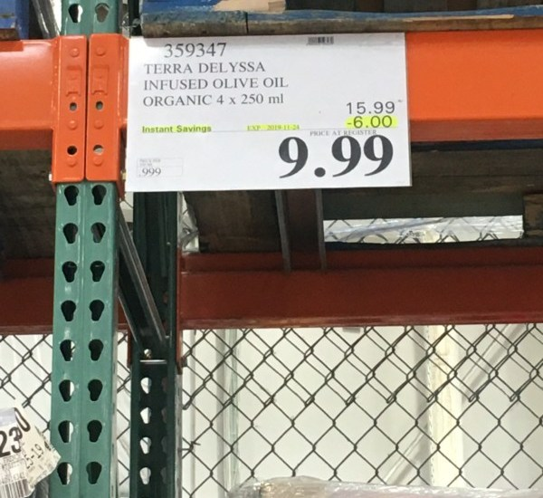 Costco Sale Price Tag