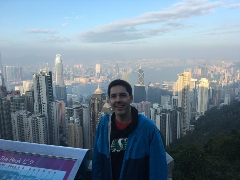 Michael McKinlay in Hong Kong