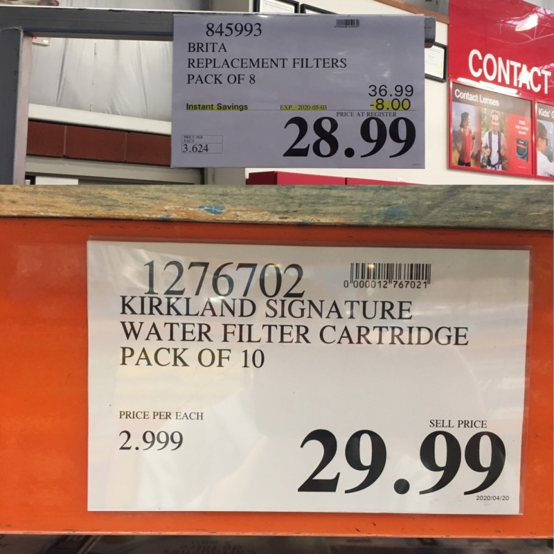 Costco Price Tags