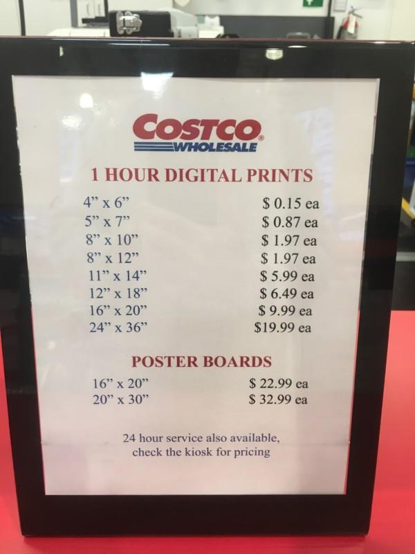 Costco Photo Centre