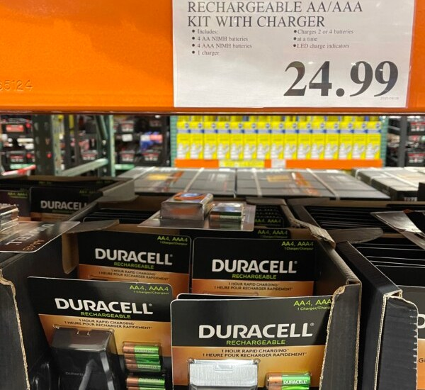 Costco Duracell Rechargeable Kit Review