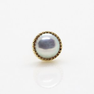 pearl end, Auris jewelry