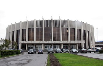 "El estadio ""Yubileyny Sports Complex""."