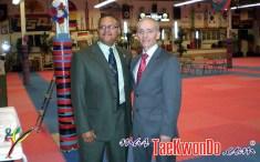 Master Juan Suarez de República Dominicana y GM. Oskar Posada.