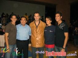 16_Mark Lopez, Sr Lopez (USA), Ireno Fargas (ESP), Diana y Steven Lopez (USA)