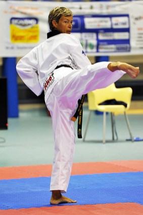 Lignano, 18092011- inizia taekwondo.