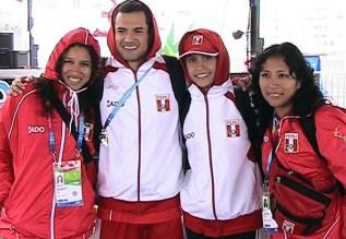 Equipo de Perú con Peter López quien competirá gracias al Wild Card.