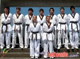 Atletas del Centro de Entrenamiento Regional de Santiago.