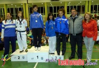 podium cadete femenino -47kg
