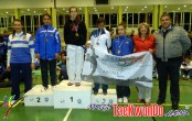 podium cadete femenino -55kg