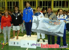 podium junior masculino -48kg