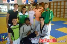 Monica Urrego y su equipo