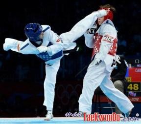 Brigitte Yagüe, taekwondo en los Juegos Olímicos