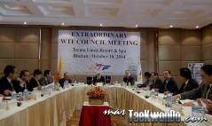 Extraordinary WTF Council Meeting, Butan, 10 de Octubre de 2014
