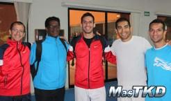 Taekwondo Argentina y Honduras en La Loma