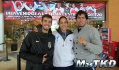 Taekwondo Portugal y Países Bajos en La Loma