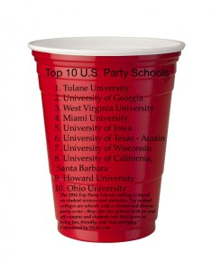 red-solo-cup top 10 party schools