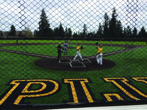 PLU Baseball's senior night.