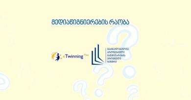 მედიაწიგნიერების რაობა. eTwinning-ი მედიაწიგნიერებისათვის!