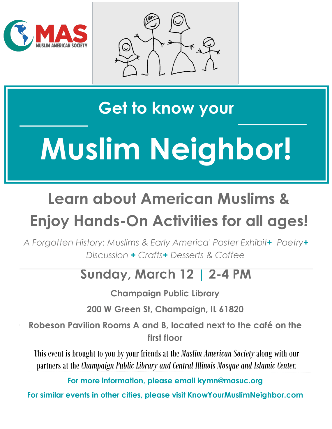Know Your Muslim Neighbor - Flyer