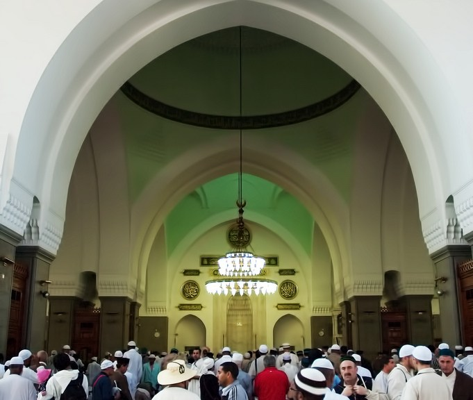 The Quba Mosque, Medina, Saudi Arabia