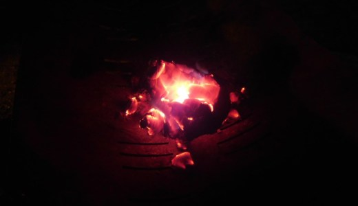"""【キャンプ】""""焚き火ワークVol.15"""" ファイナル 失敗の鐘の音、レシピもなし。"""