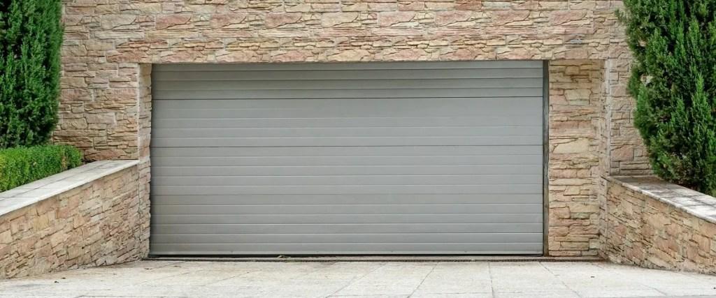 szara brama garażowa białystok