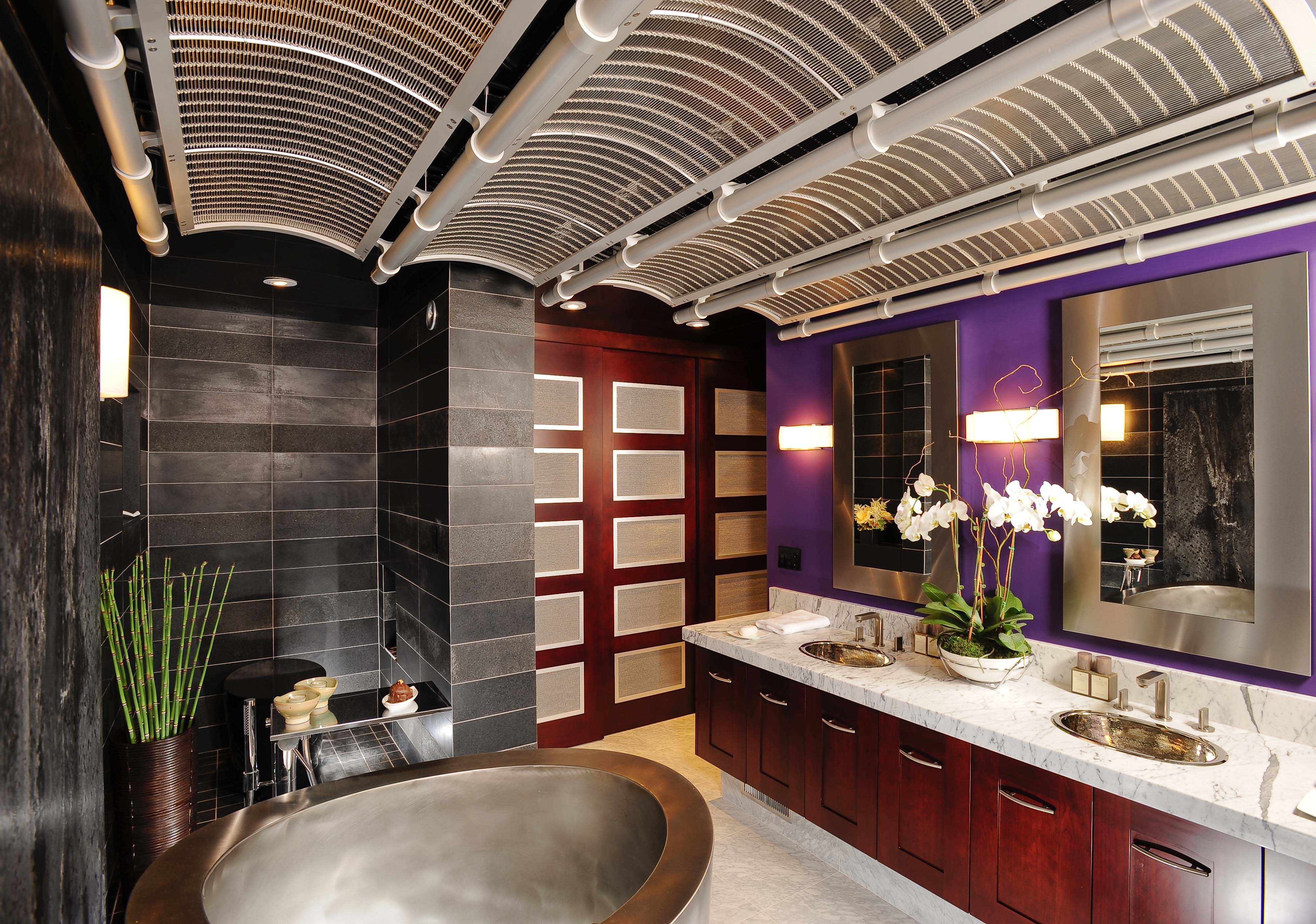 Asian Contemporary Bathroom By Danenberg Design