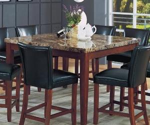 Marble Top Square Dining Table By Coaster