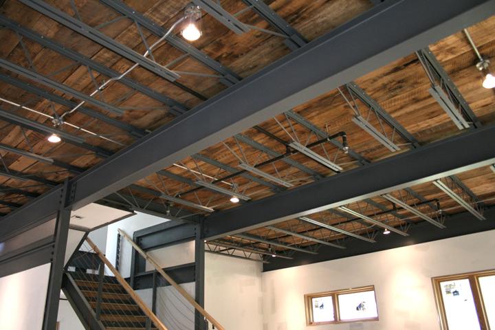 Wood + Steel Floor System 3030 EcoSteel House