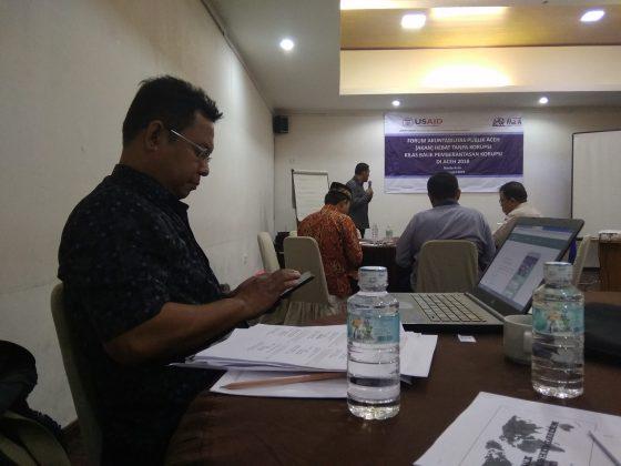 Forum Akuntabilitas Publik, Aceh Hebat tanpa Korupsi (2)