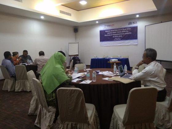 Forum Akuntabilitas Publik, Aceh Hebat tanpa Korupsi (3)