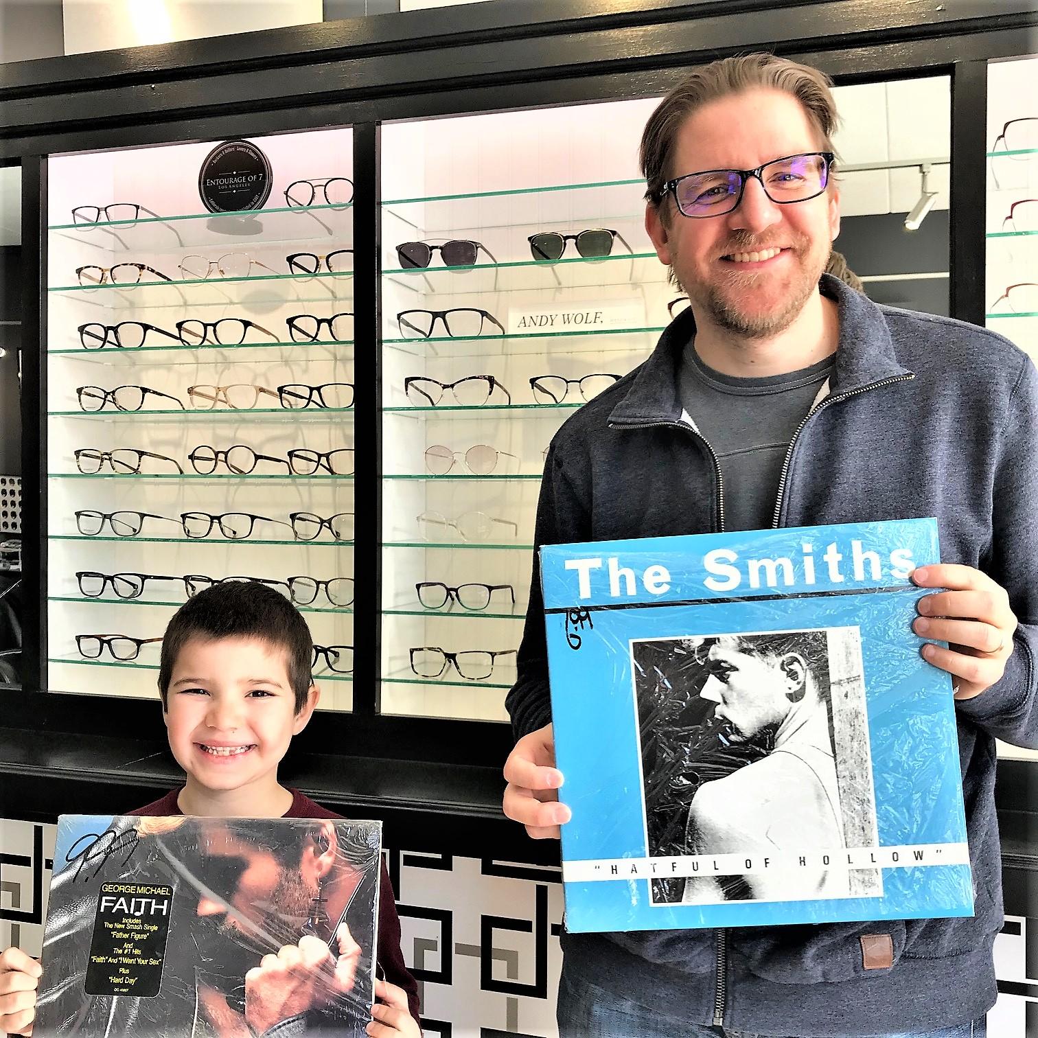 Milton Artist brings in pristine Vinyl