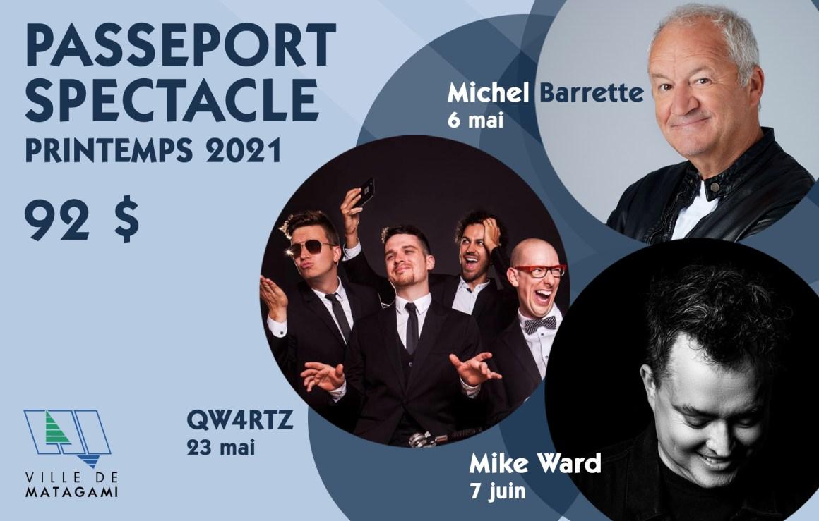 Passeport spectacle – Printemps 2021
