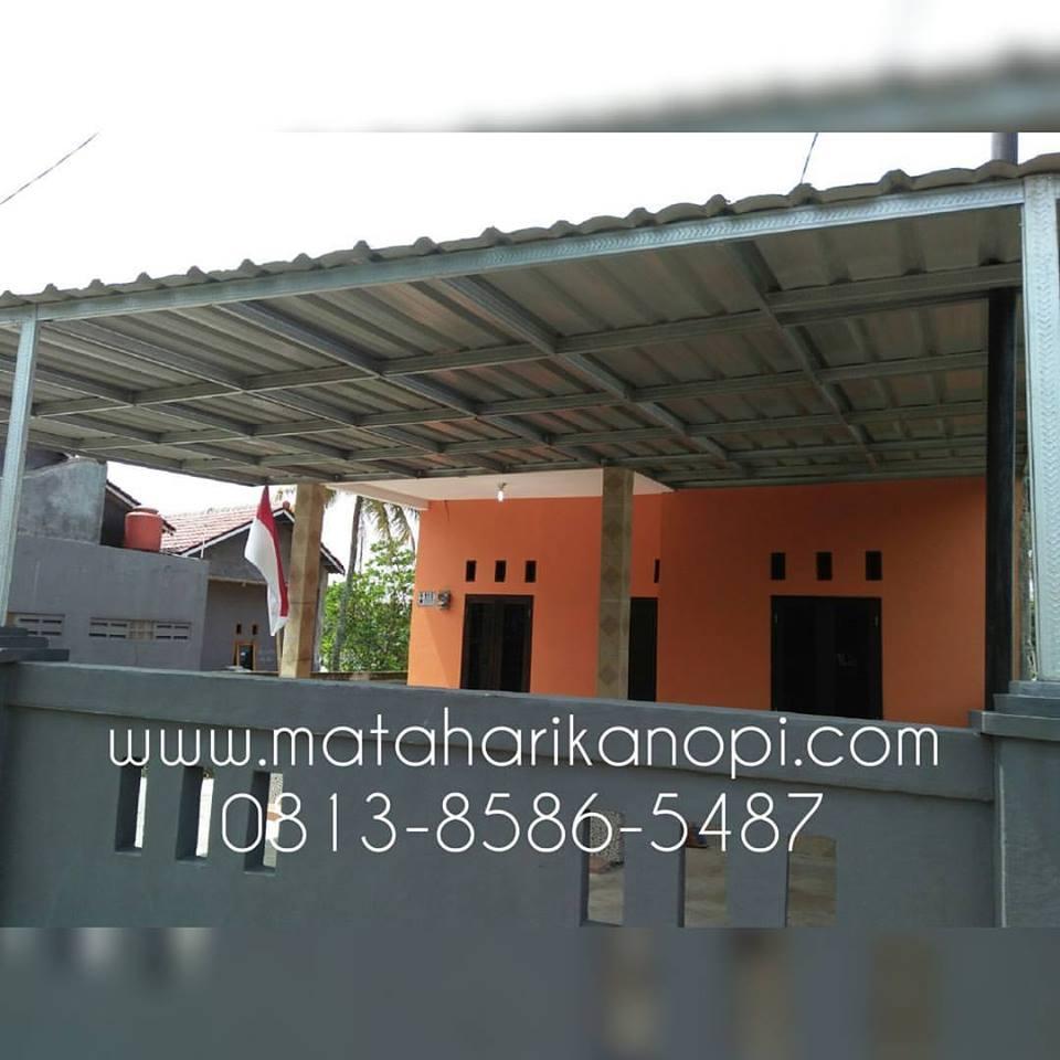 007.-kanopi-baja-ringan-atap-spandek-di-Cilodong Hasil Pemasangan Kanopi Baja Ringan Atap Spandek di Cilodong, Depok