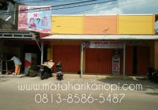 Hasil Pemasangan Kanopi Baja Ringan Atap Alderon RS di Cilodong Depok