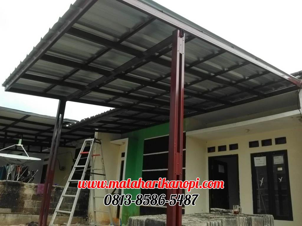 022.-kanopi-baja-ringan-atap-spandek-di-Taman-Semesta-Mas-Bojong-Gede-Citayem-Bogor-1-ok Hasil Pemasangan Kanopi Baja Ringan Atap Spandek di Perum Taman Semesta Mas (TSM), Bojong Gede, Citayem, Bogor