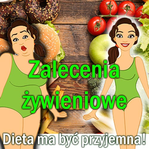 zalecenia żywieniowe produkt