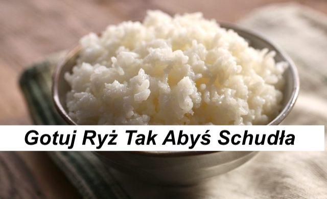 Gotuj swój ryż w sposób który może pomóc Ci schudnąć