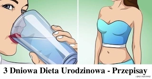 3-dniowa DIETA wodna dla szybkiej utraty wagi